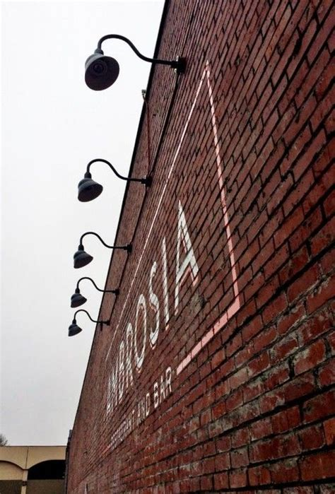 Picture of: Rustic Outdoor Sign Lighting