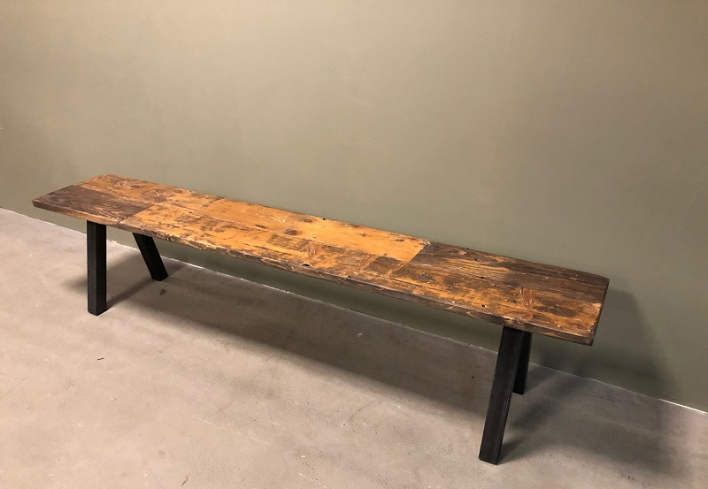 Image of: SImple Indoor Wooden Benches