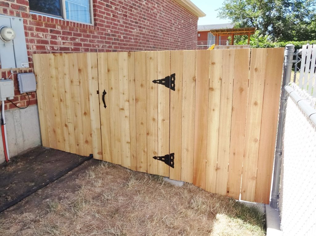 Picture of: Screens Wood Fence Gate Designs