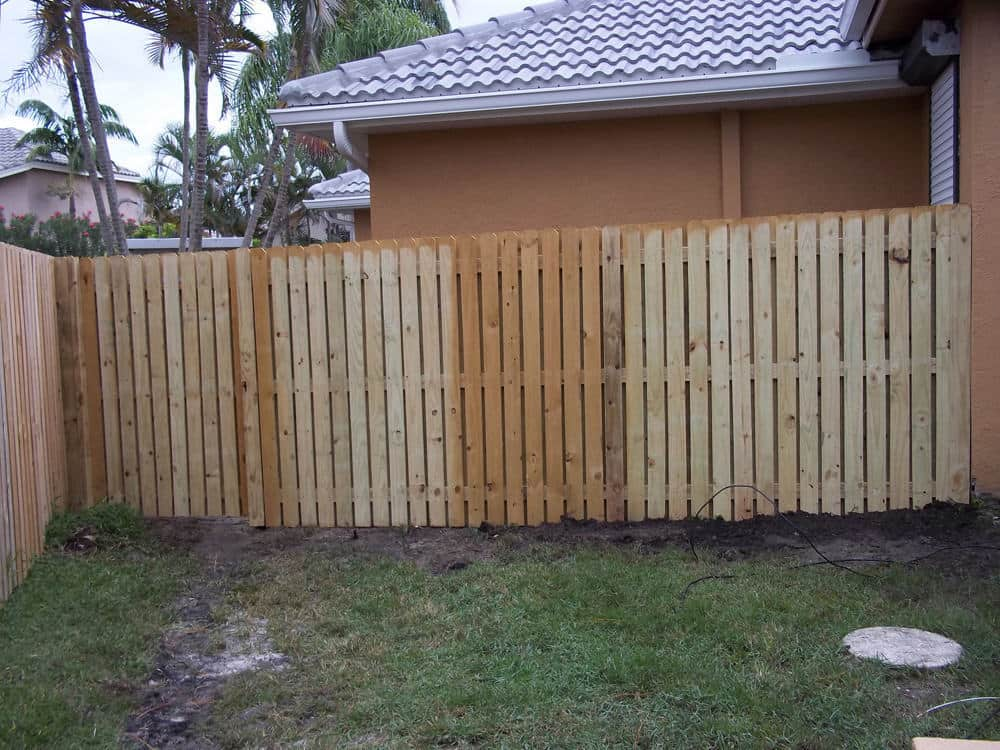 Picture of: Shadow Box Wood Fence Cost
