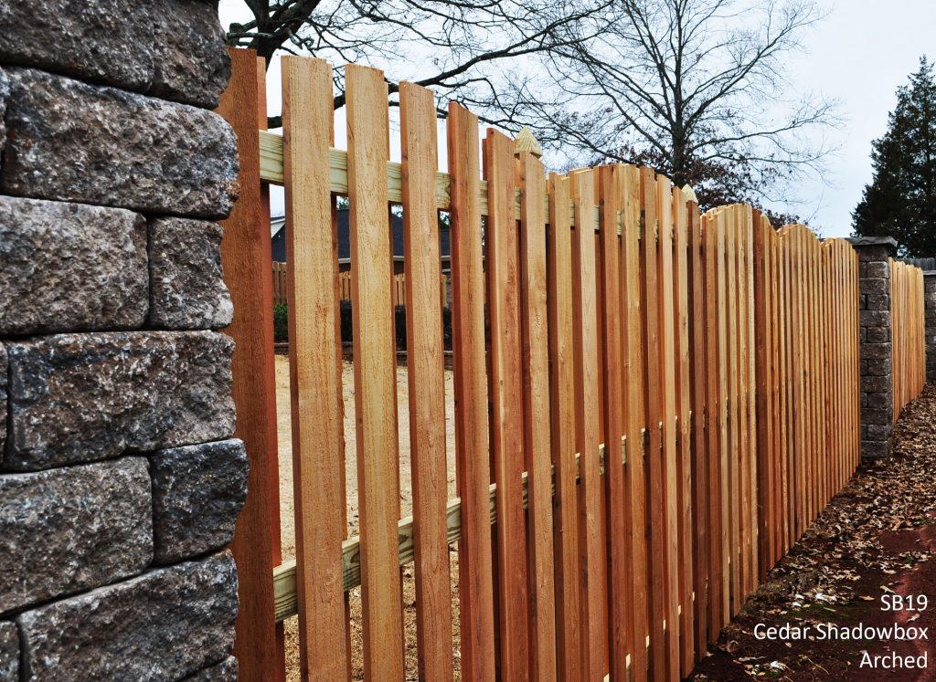 Picture of: Shadow Box Wood Fence Panels Idea