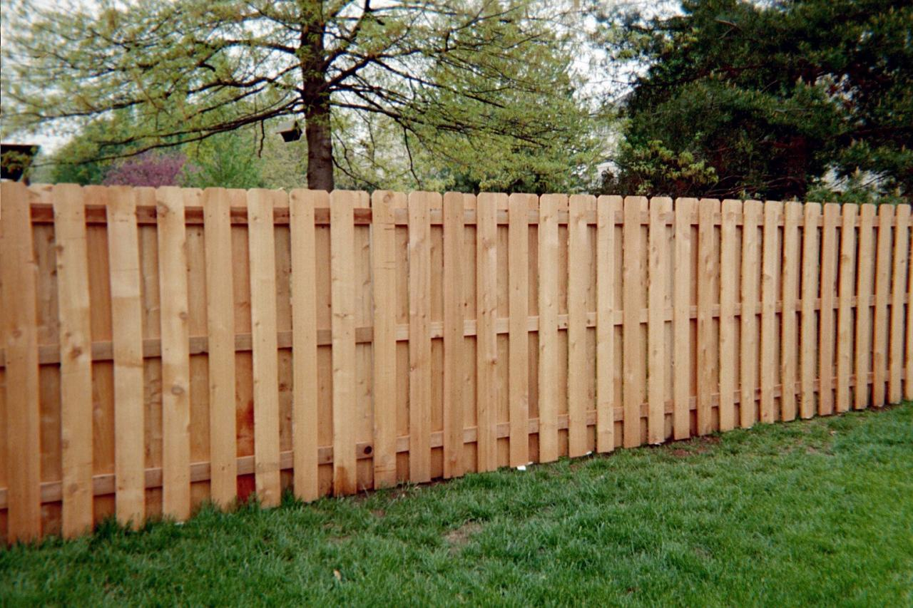 Picture of: Shadow Wood Fence Parts