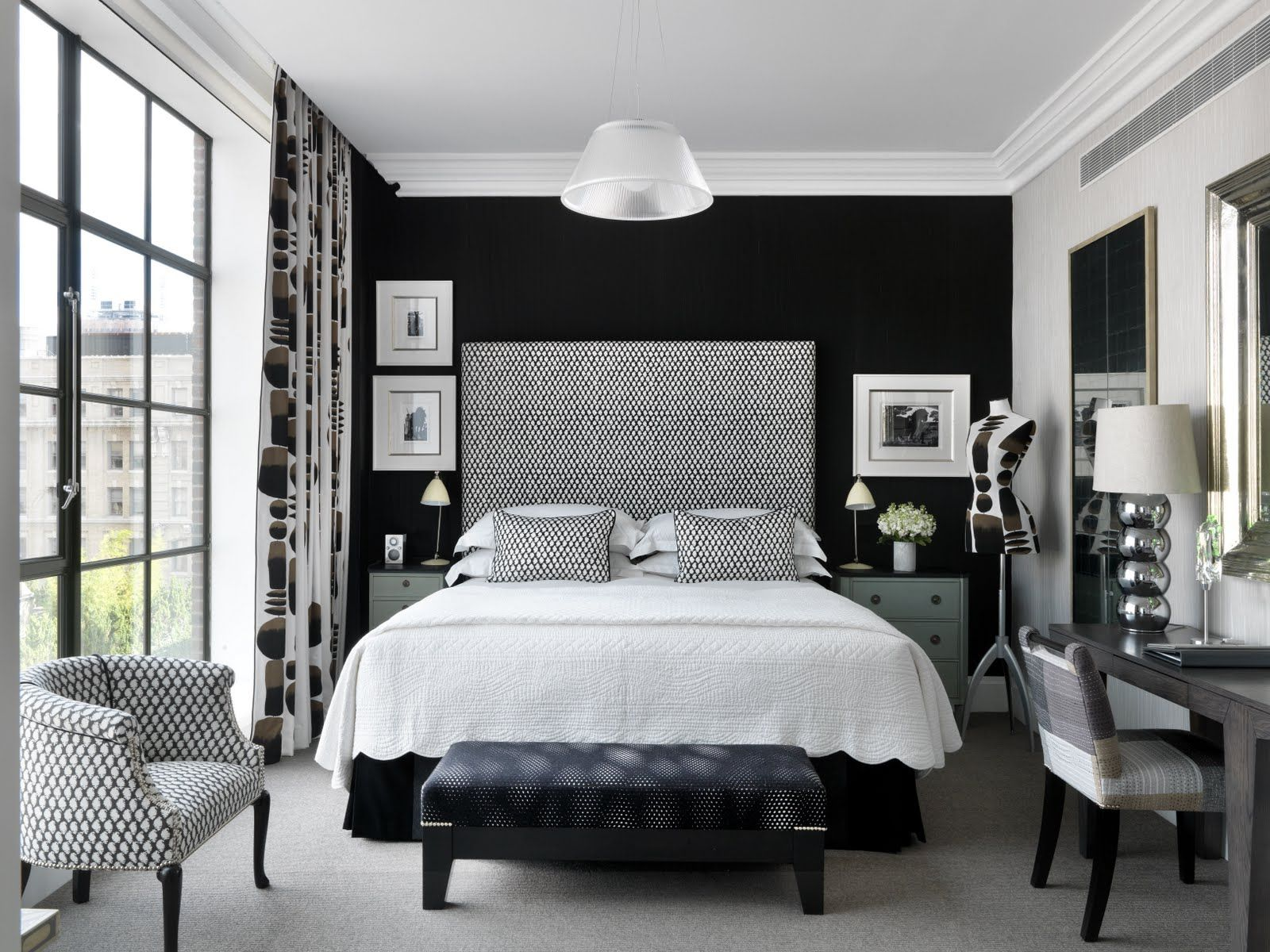 Image of: Silver Bedroom Set Style