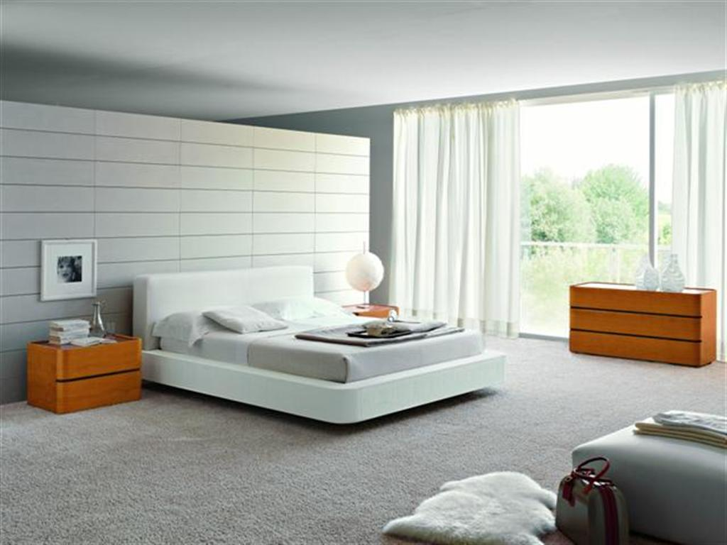 Silver Contemporary Bedroom Sets