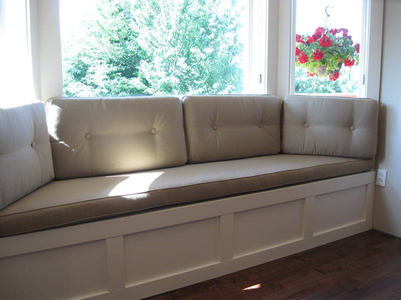 Picture of: Simple Indoor Bench Seat Cushions