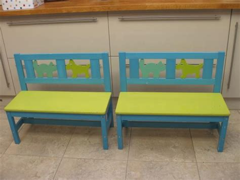 Picture of: Simple Kids Wooden Bench