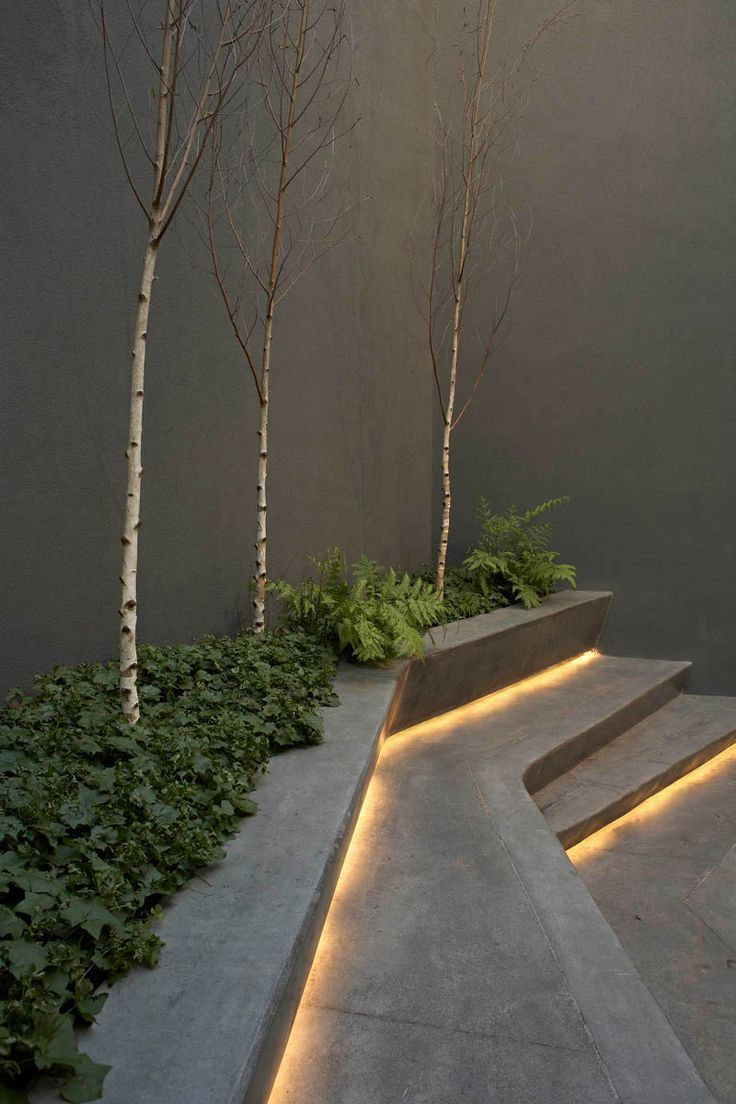 Picture of: Simple Led Step Lights Outdoor