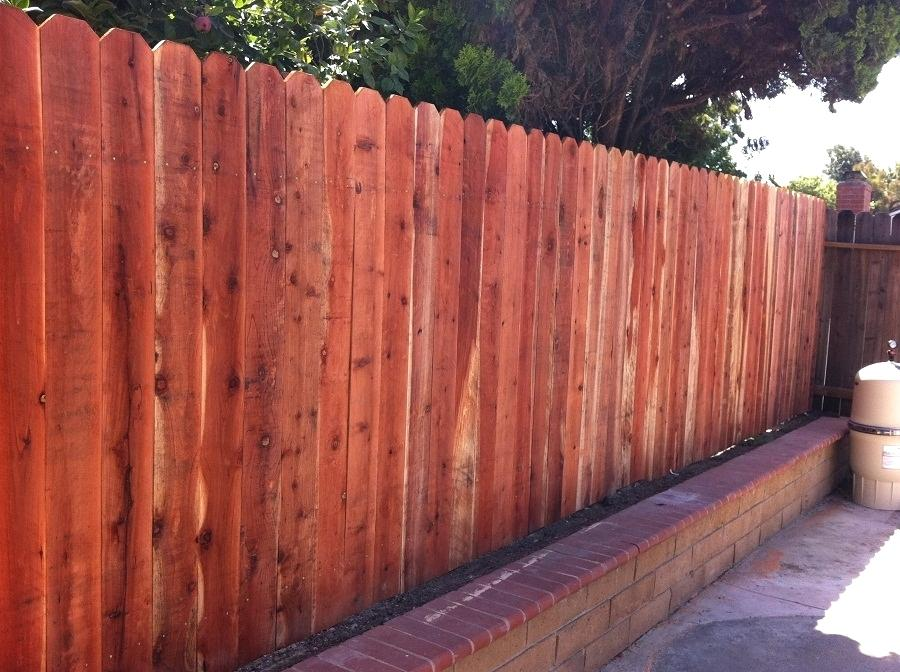 Picture of: Simple Stockade Fence Panels Ideas
