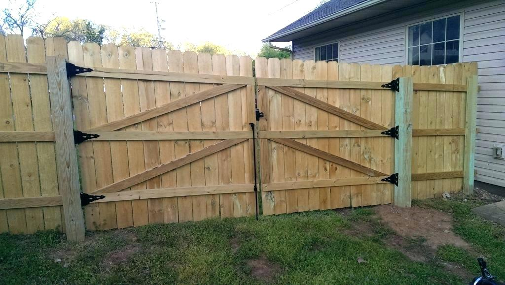 Picture of: Simple Wood Fence Gate Hardware