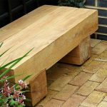 Simple Wooden Bench Small