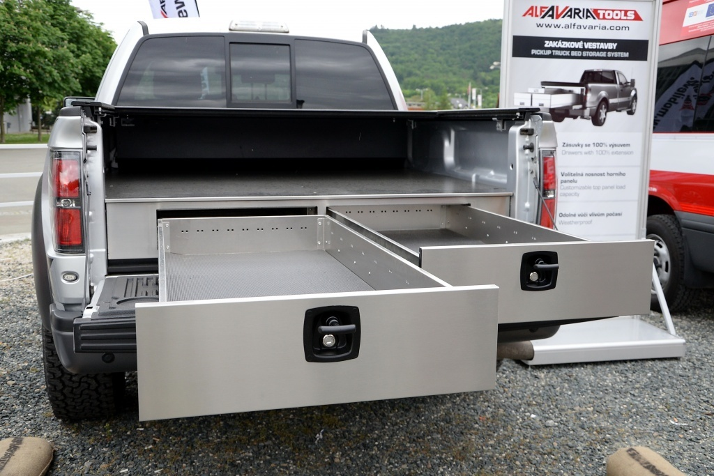 Picture of: Slide Out Truck Bed Storage