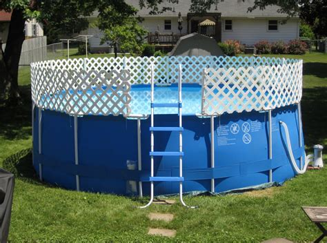Small Above Ground Pool Fence Ideas