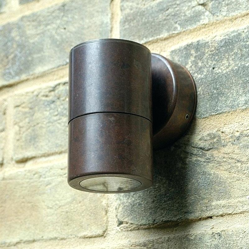 Picture of: Small Copper Outdoor Lighting