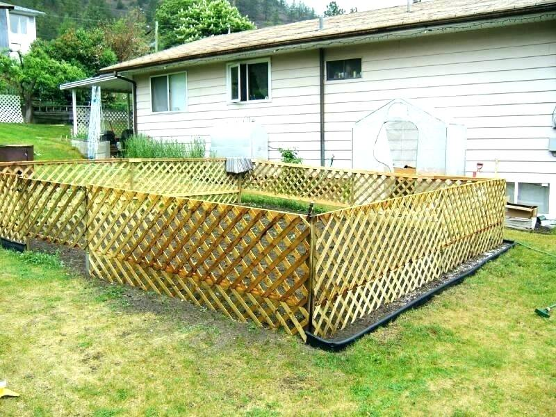 Small Fence Ideas Modern