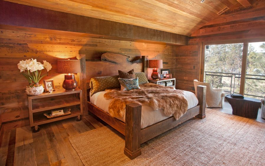 Picture of: Small Rustic Bedroom Sets