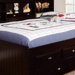 Small Twin Trundle Bed with Storage
