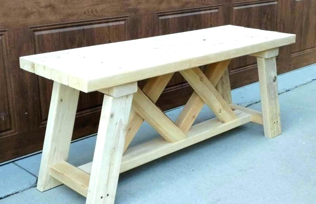 Picture of: Small Wooden Bench Cons