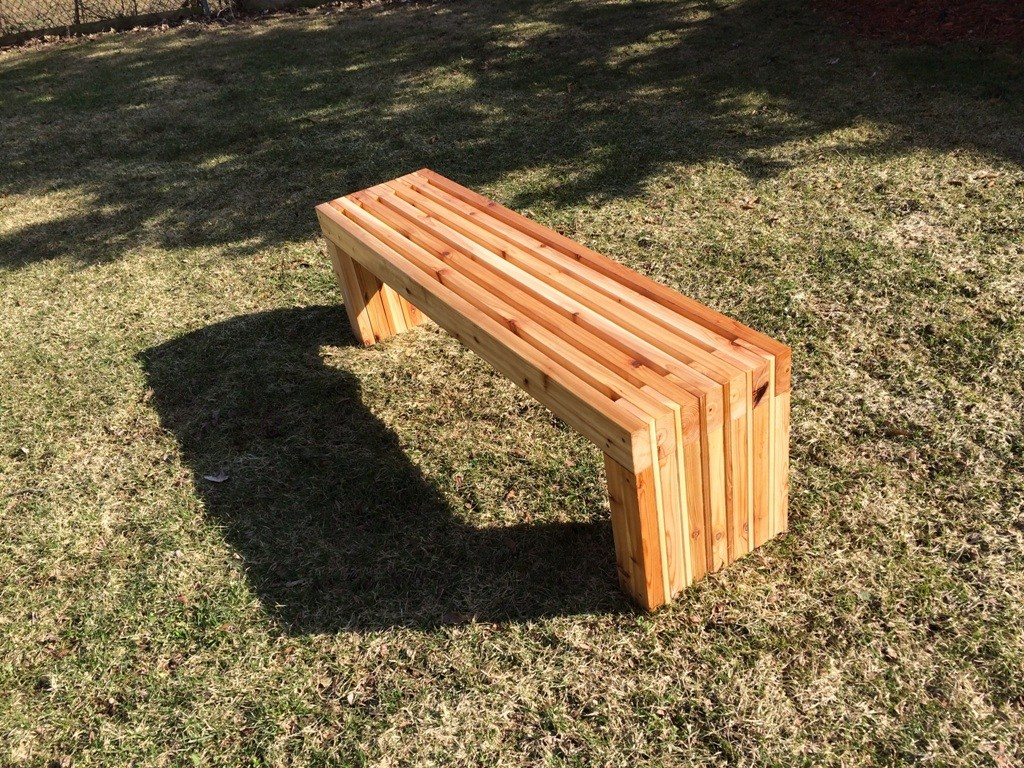 Picture of: Small Wooden Bench Design Ideas