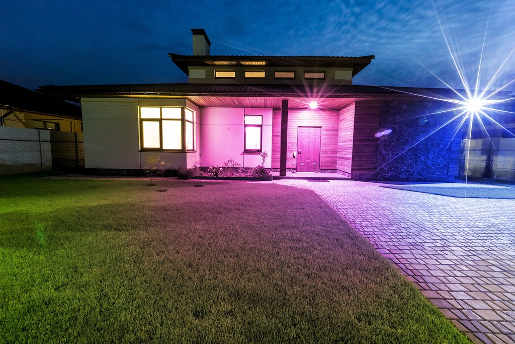 Picture of: Smart Outdoor Lighting System