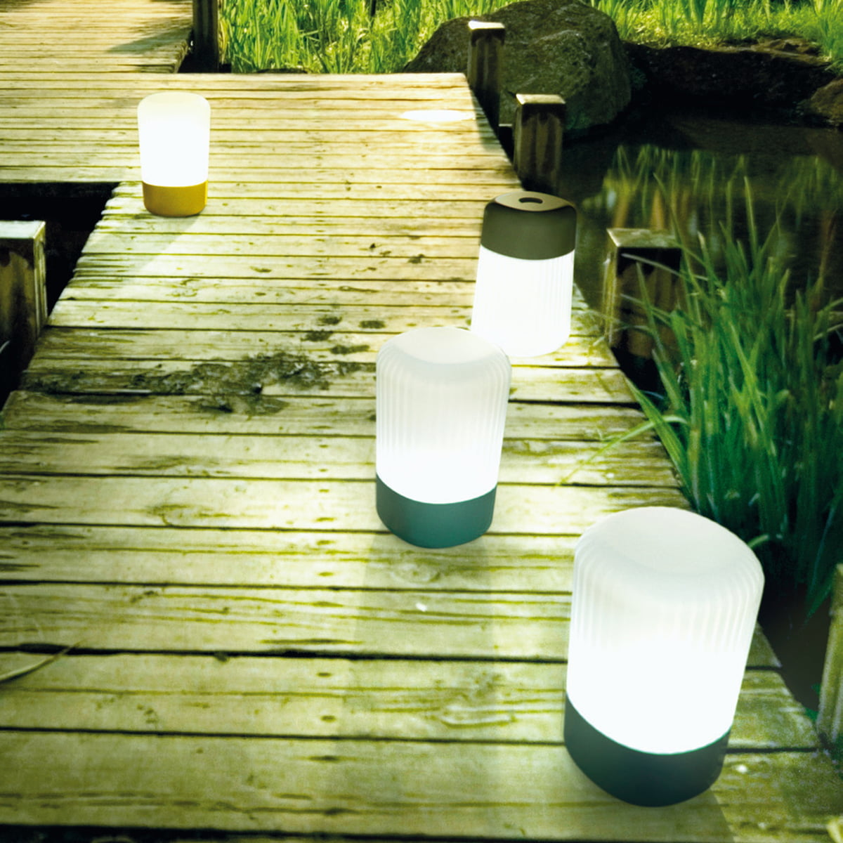 Picture of: Smart Outdoor Table Lamp
