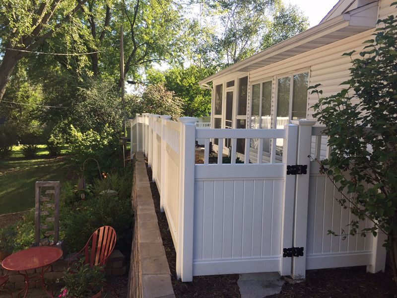 Picture of: Smart Plastic Fence Panels