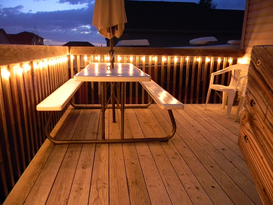 Solar Outdoor Deck Lighting