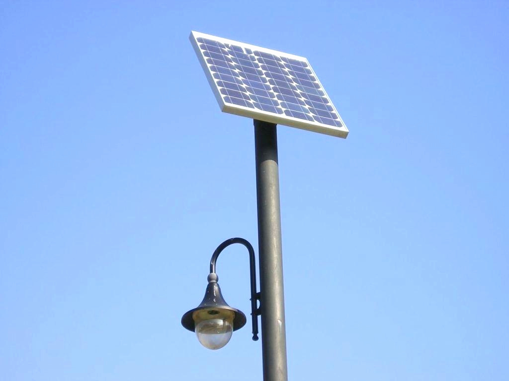 Picture of: Solar Outdoor Pole Lamps