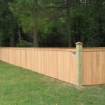 Solid 4 Ft Wood Fence