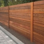 Solid Horizontal Fence Panels