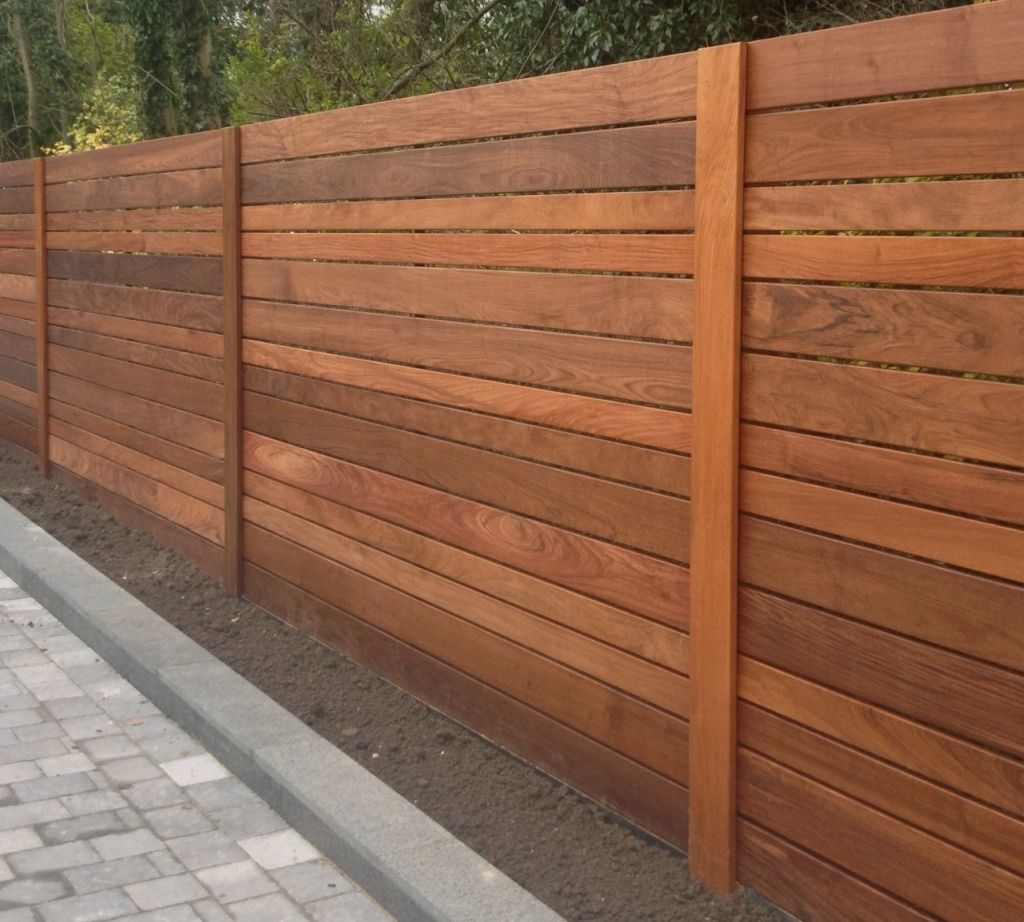 Picture of: Solid Horizontal Fence Panels