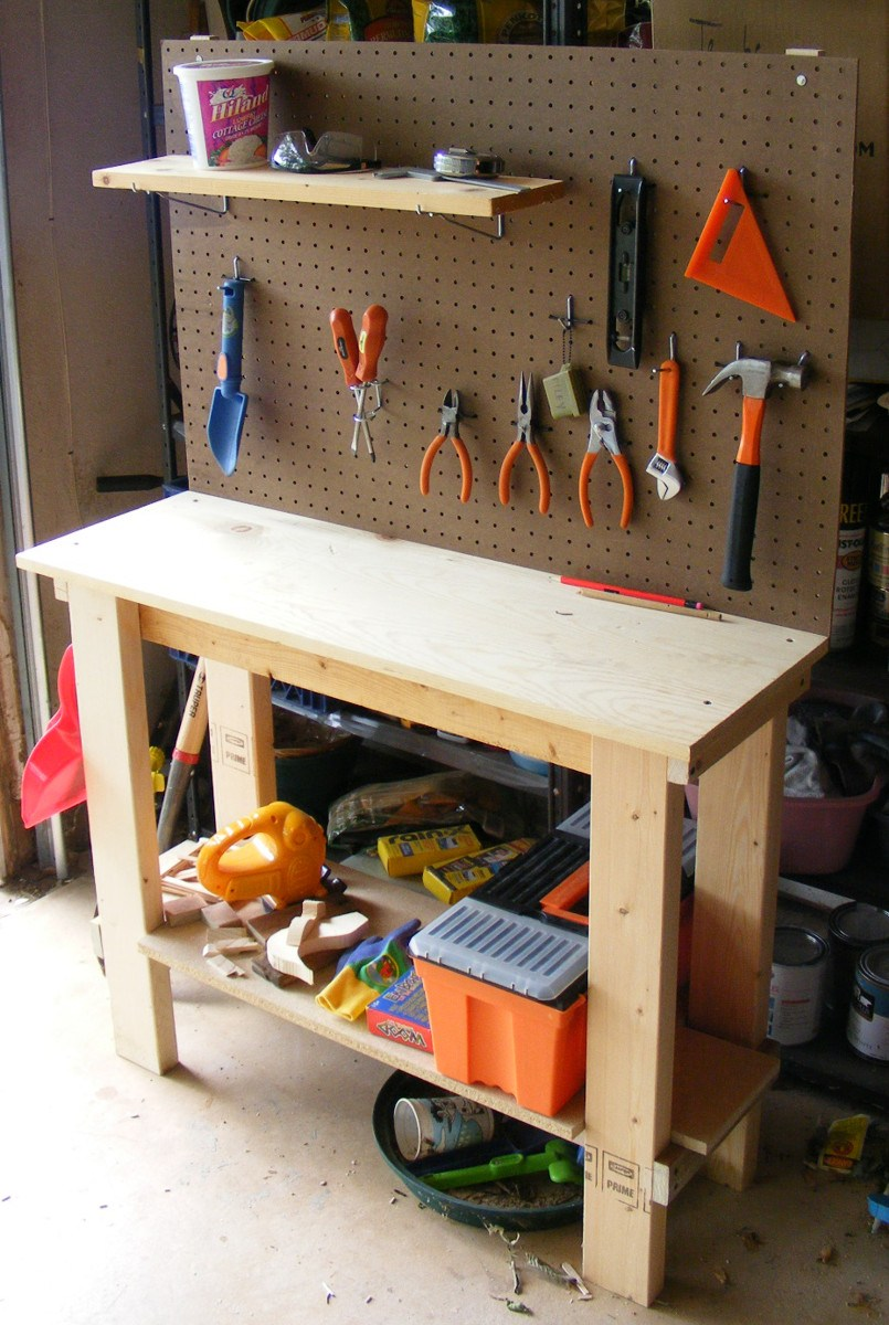 Solid Kids Wooden Tool Bench