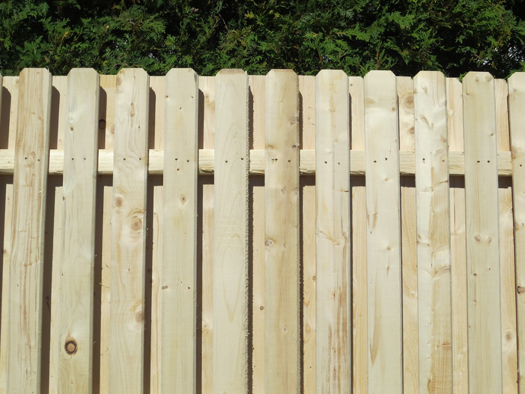 Picture of: Spruce Board On Board Fence Panels
