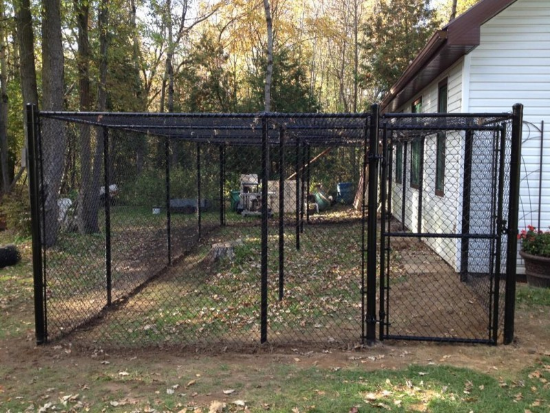 Square Outdoor Dog Fence Panels