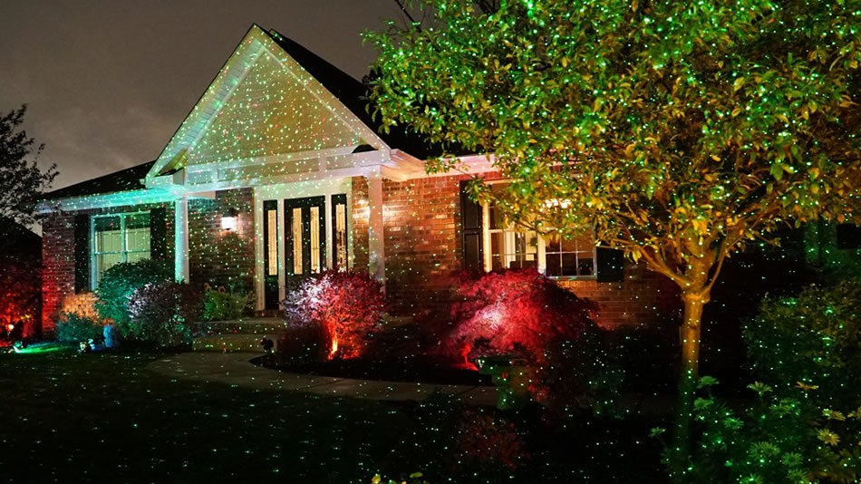 LED Outdoor Christmas Laser Lights