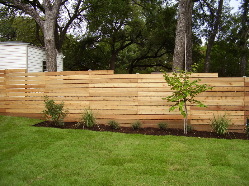 Picture of: Steel Post for Wood Fence Modern