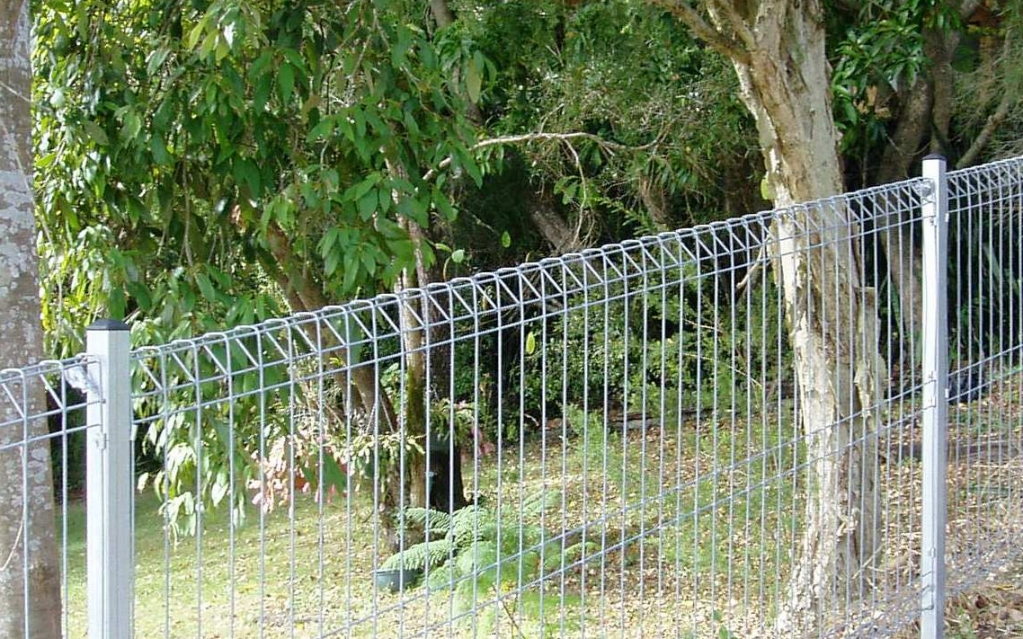Picture of: Steel Wire Mesh Fence Panels