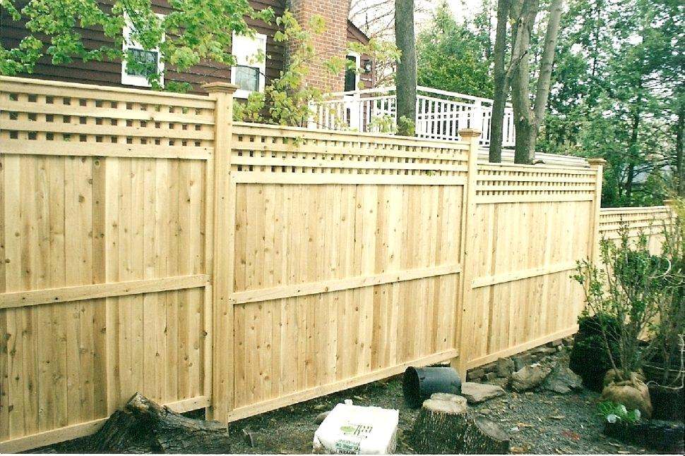 Picture of: Stockade Fence Panels Design Ideas
