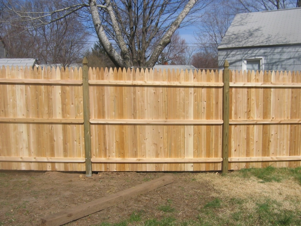 Picture of: Stockade Fence Panels Style