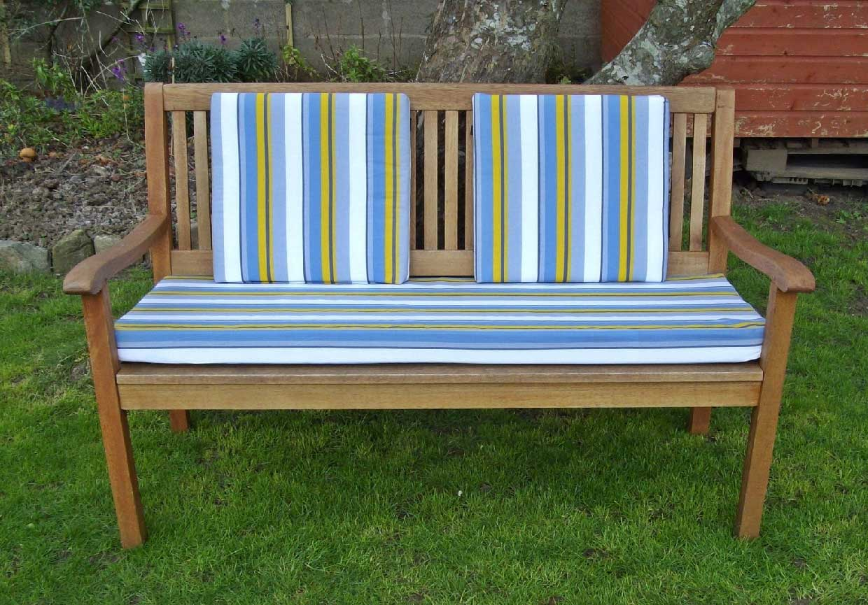 Image of: Strip Bench Cushions Ikea