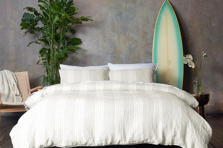 Stripe Brooklinen Duvet Cover