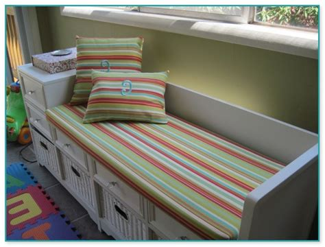 Picture of: Stripe Indoor Bench Seat Cushions