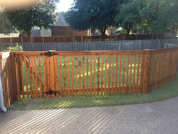 Picture of: Stunning 4 Ft Wood Fence