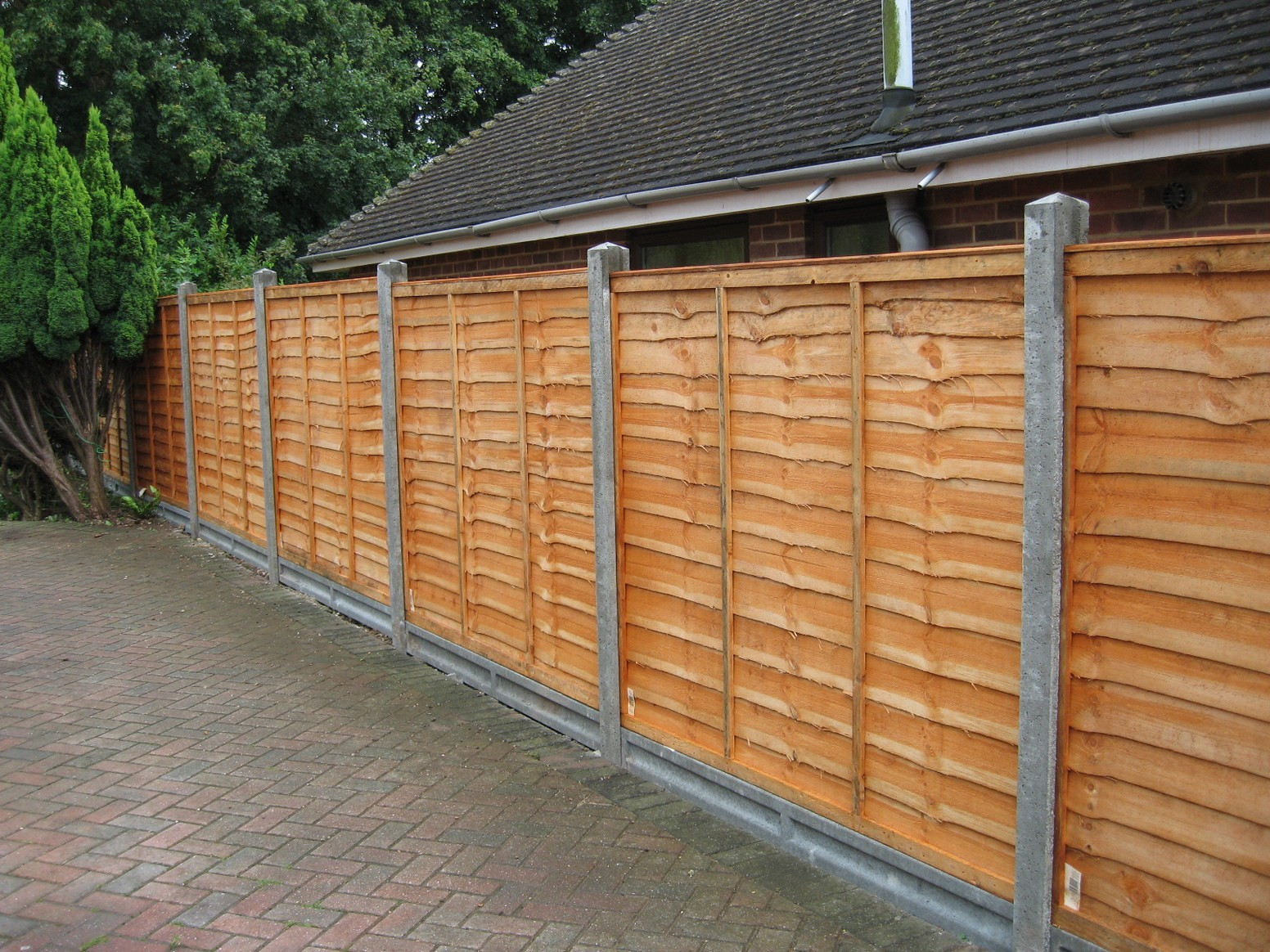Picture of: Styles of Wood Fence Panels