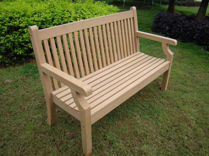 Picture of: Teak Wooden Porch Bench