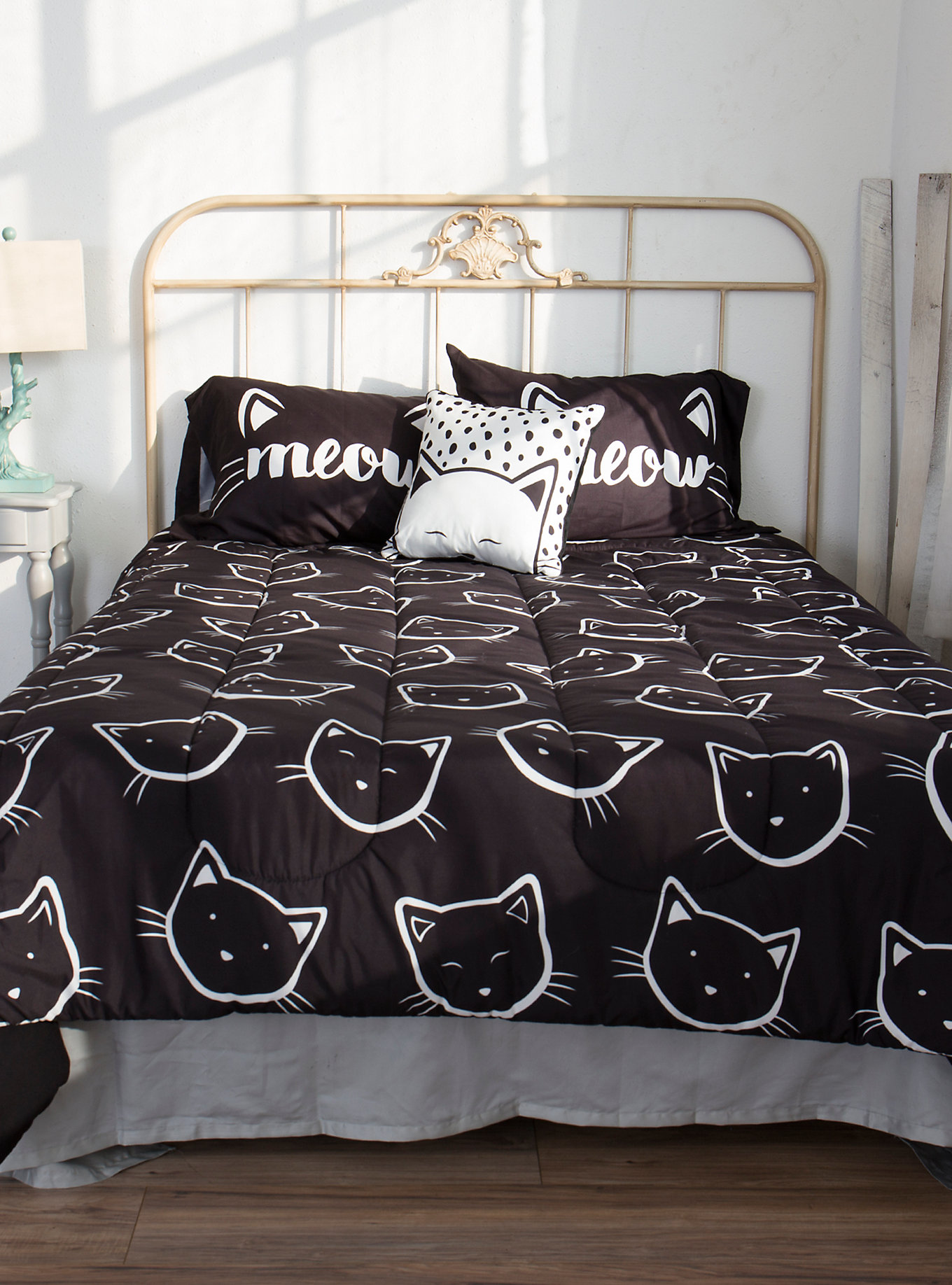 Teen Cat Bedding Set