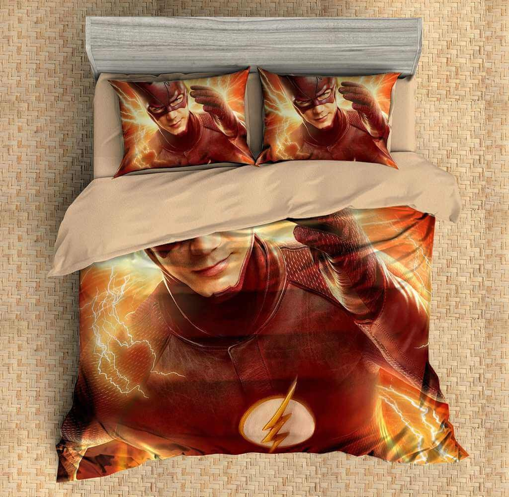 Image of: The Flash Bed Set 3D