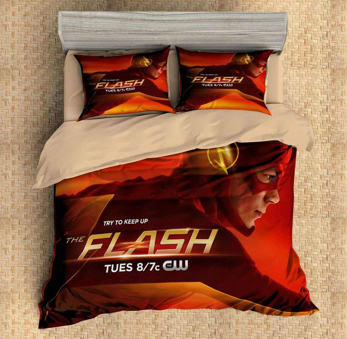 Image of: The Flash Bed Set Custom