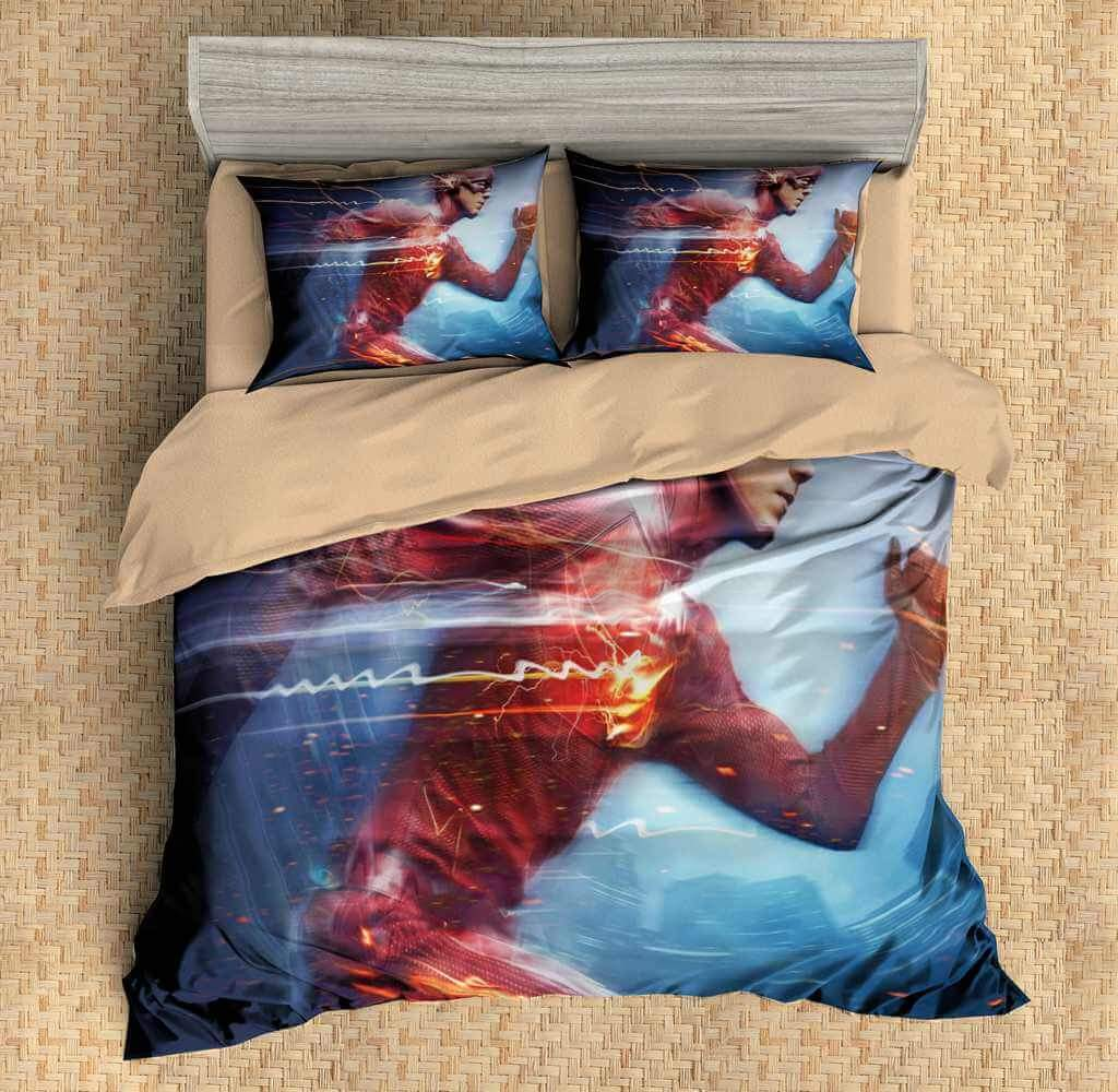 Image of: The Flash Bed Set Kids