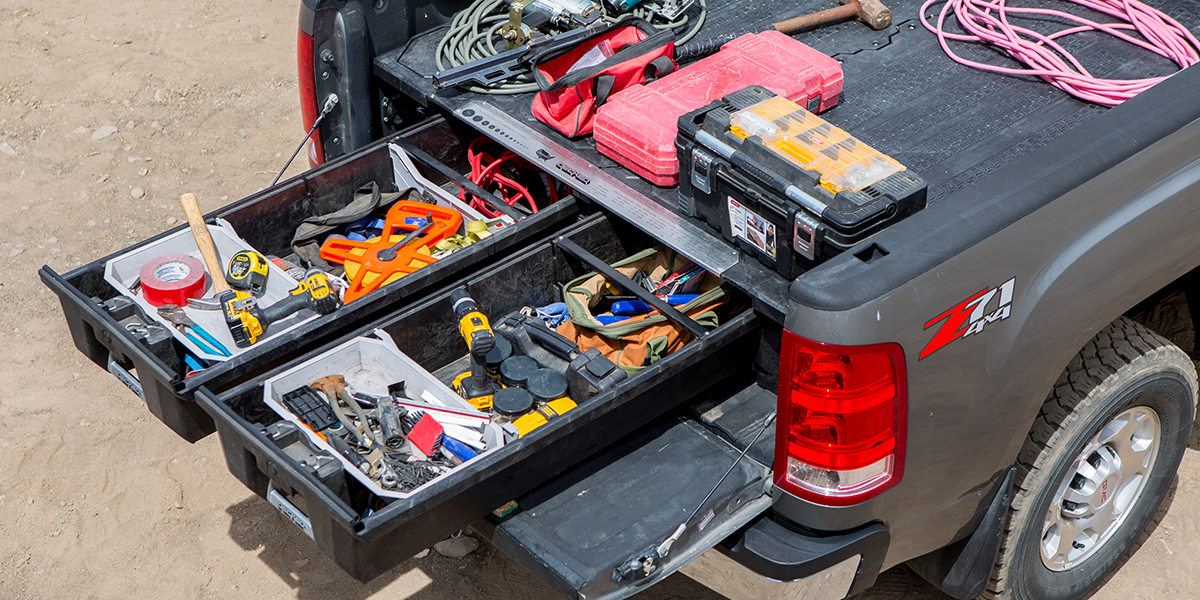 Top Decked Truck Bed Storage
