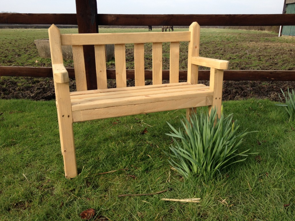 Picture of: Traditional Kids Wooden Bench